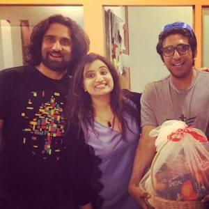 Ali Noor, RJ Sophie and Ali Hamza