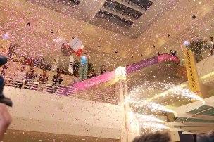 Fireworks at Dolmen Mall