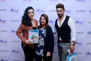 Momal Shiekh, Mrs Shiekh and Hasan Rizvi