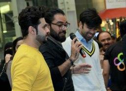 Saim Ali, Yasir Hussain and Wahab Shah