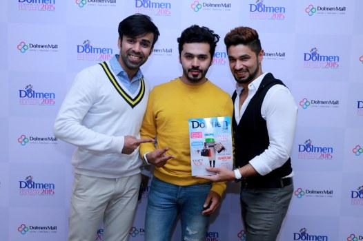 Wahab Shah, Saim Ali and Hasan Rizvi
