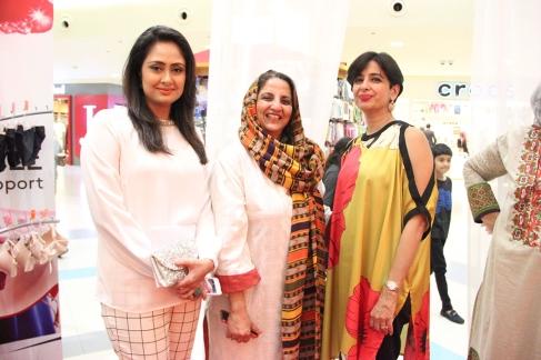 (L-R) Mahin Khan, Shanaz Ramzi, Maliha (3)