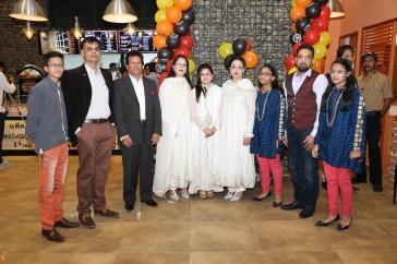 Mr Amir & Mr Kashif with family