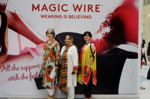 Simeen Khan, Shanaz Ramzi & Maliha Bhimji