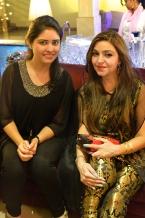 Mina Ramzi and Ayesha Hashim
