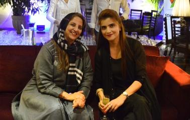 Shanaz Ramzi & Mrs Moammar Rana