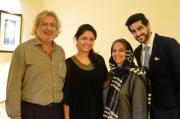 Zulfiqar Ramzi, Mina Ramzi, Shanaz Ramzi and Turab Ramzi