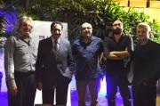 Zulfiqar Ramzi, Mustafa Qureshi, Sajid Hassan, Mazhar Zaidi and Hasan Zaidi