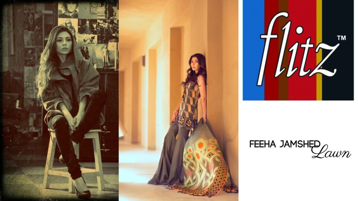 Flitz Fashion presents Feeha Jamshed's debut lawn collection titled 'Florence of Arabia' Volume 1.jpg