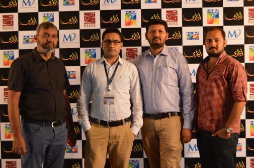 (R-L) Wajid, Arsalan, Junaid and Mehmood Ali