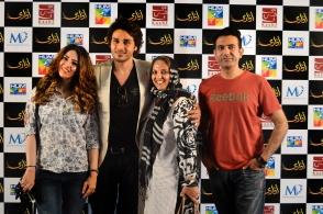 Sara Jawaid, Ahsan Khan, Shanaz Ramzi and Yousuf Fayyaz